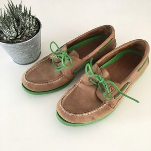 Sperry | Men's Top Sider with Green Soles